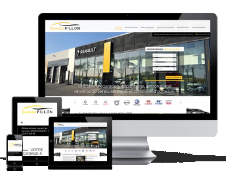 Visuel création de site internet Création de site internet catalogue
